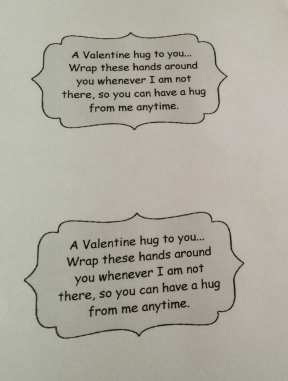 A Huggable Valentine's Day Craft