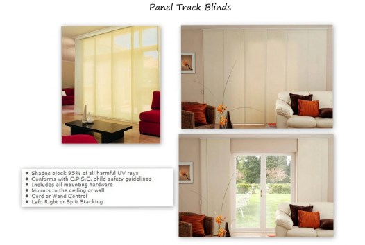 Panel Track Blinds