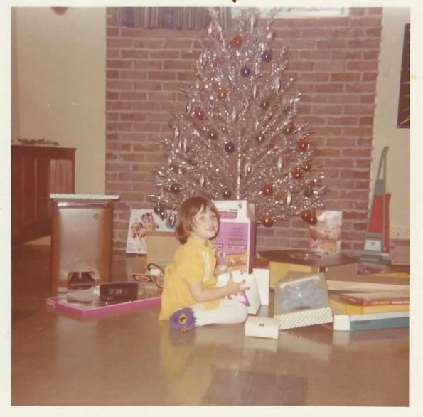 1970's Silver Christmas Tree