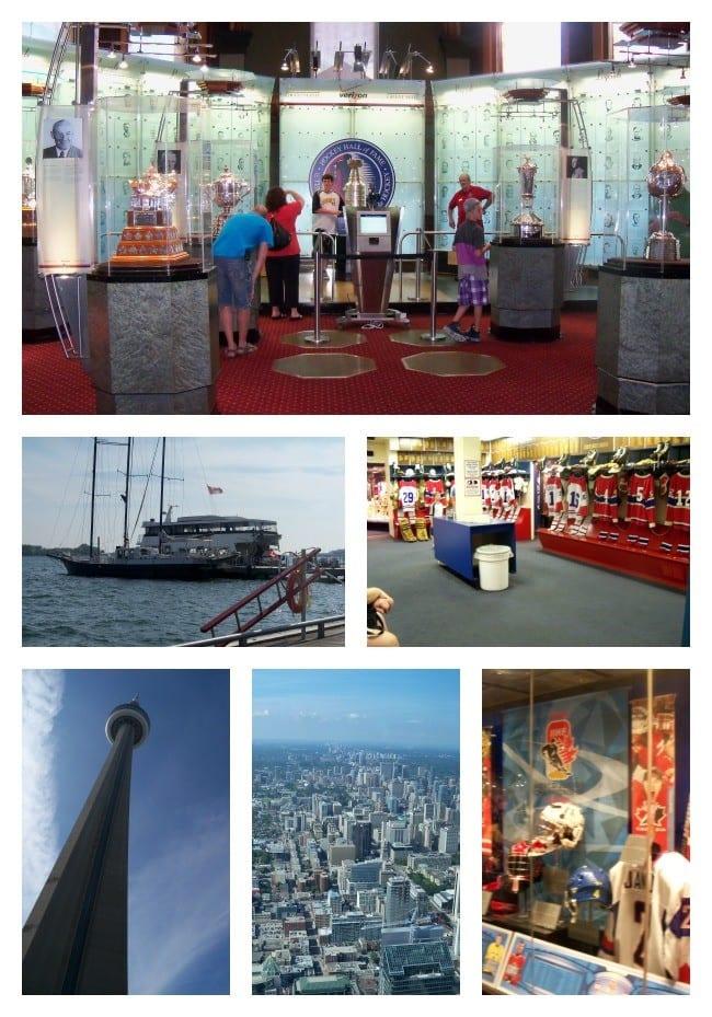 Hockey Hall of Fame-CN Tower- Toronto