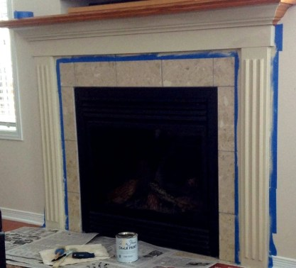 refinishing mantle