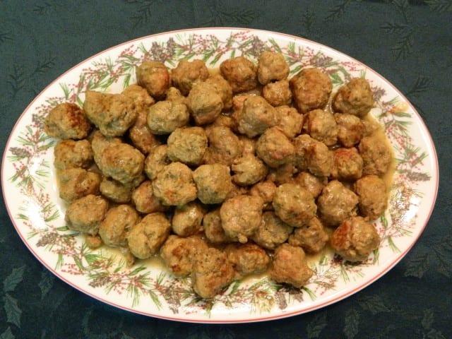 ragoût de boulettes