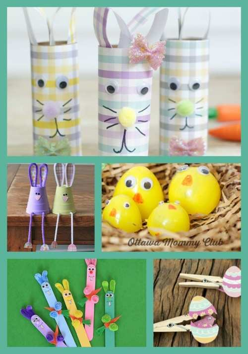 15 Fun and Creative Easter Crafts for Kids 2