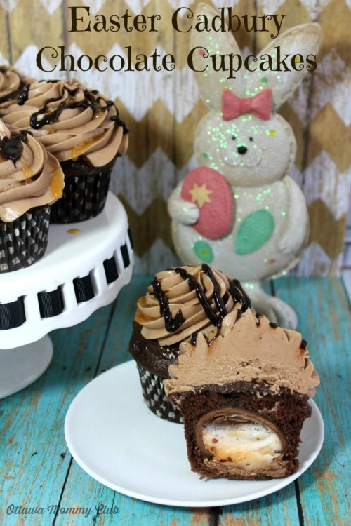 Easter Cadbury Chocolate Cupcakes Recipe