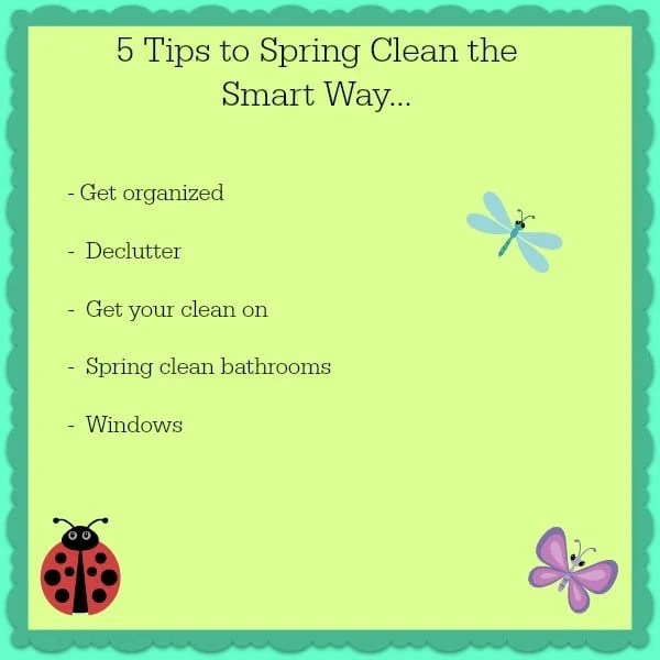 5 tips to spring clean the smart way ottawa mommy club ottawa mommy club - Five tips for quick cleaning ...