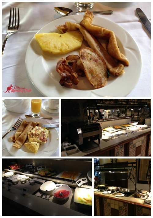 Fairmont Le Château Montebello Buffet Breakfast