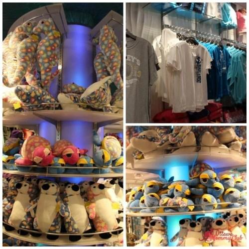 Ripley's Aquarium Gift shop