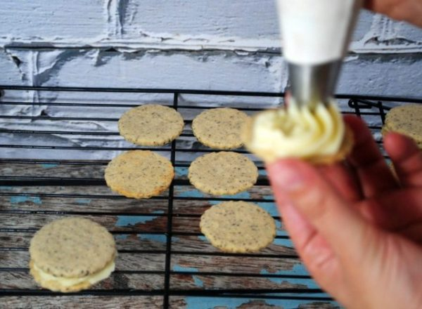 Delectable Coffee Sandwich Cookies Recipe