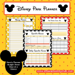 Free Disney Park Planner Printables‏ to Download!