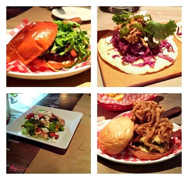 Jack Astors Tasting Menu Mains Photo Ottawa Momy Club 10272015