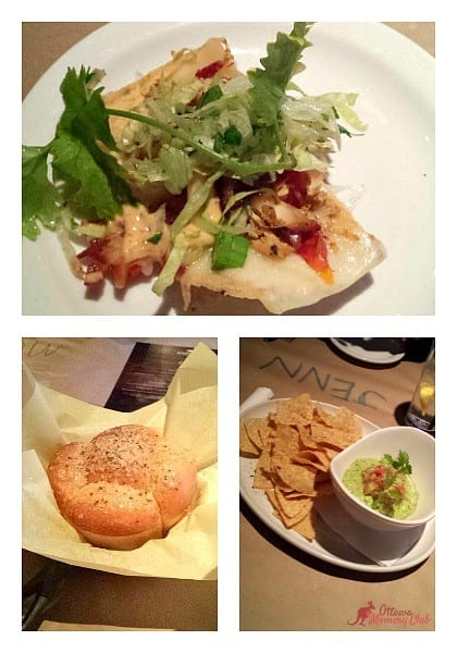 Jack Astors Tasting Menu Starters Photo Ottawa Mommy Club Collage