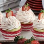 Strawberries and Cream Cupcakes Recipe