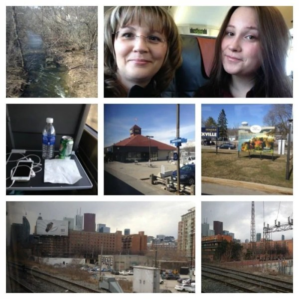 Train Ride to Toronto