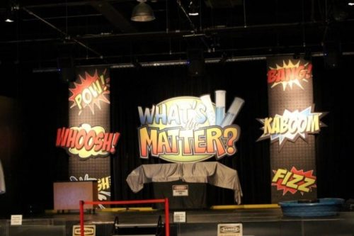 Ontario Science Centre- What's the Matter show