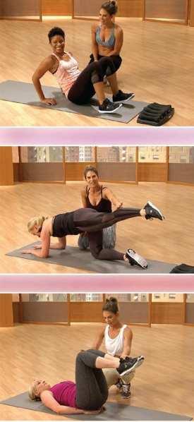 Jillian Michaels Hot Body, Healthy Mommy DVD 2 Instructions