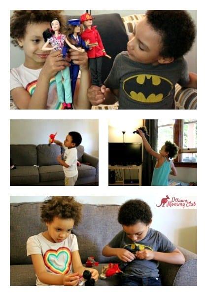 Ottawa Mommy Club Barbie Maya and Marcus Collage Photo 2