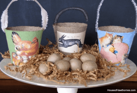 Spring Peat Pot Craft