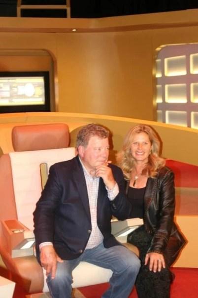 William and Elizabeth Shatner - STAR TREK The Starfleet Academy Experience Gala