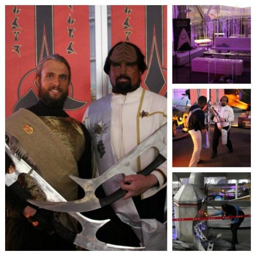 cosplayers STAR TREK The Starfleet Academy Experience gala