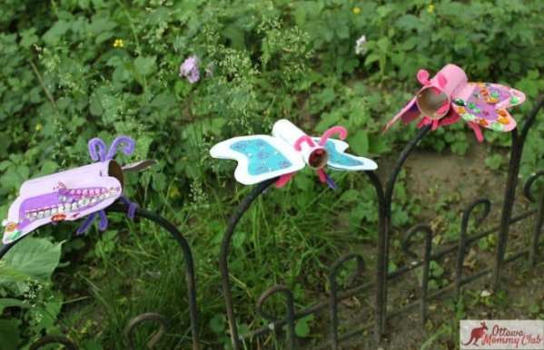 Ottawa Mommy Club Butterfly Craft Group Garden 2 1 Photo