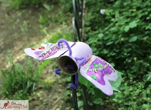 Ottawa Mommy Club Butterfly Craft Marcus Finished Garden 2 2 Photo