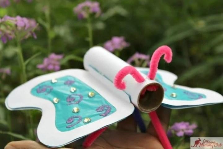 Ottawa Mommy Club Butterfly Craft Mom Hand Garden 1 2 Photo