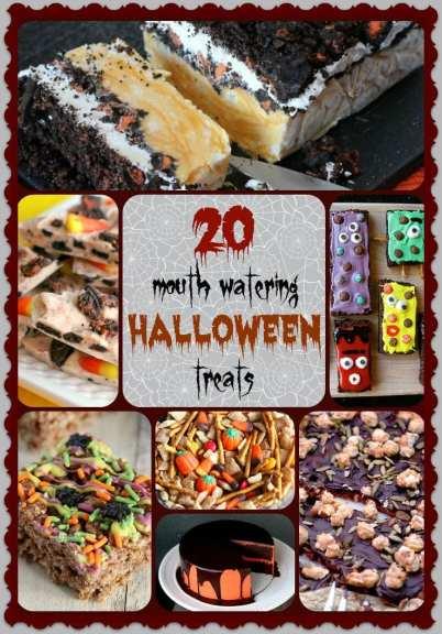 D - 20 Halloween Goodies - Words