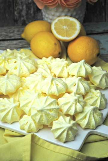 Lemon Meringue Cookies Recipe