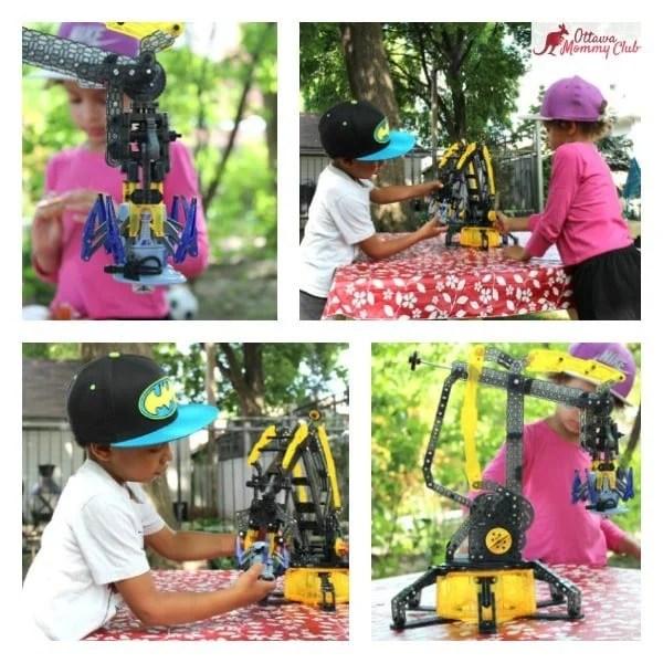 Ottawa Mommy Club HEXBUG Arm Kids Play Collage Photo