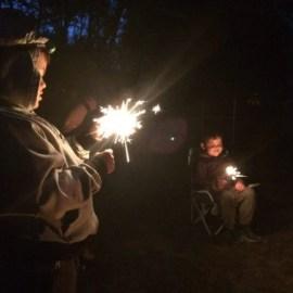 Campfire fun at Parc La Conception