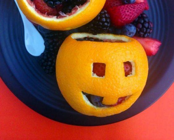 Jack-O-Lantern Orange Bowls Recipe