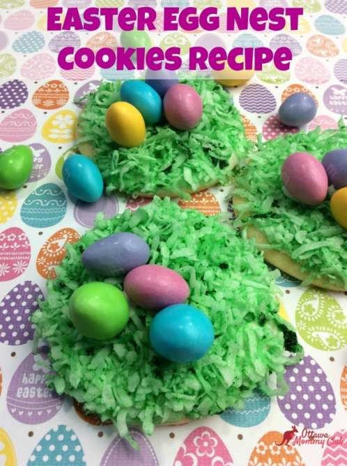 Easter Egg Nest Cookies Recipe