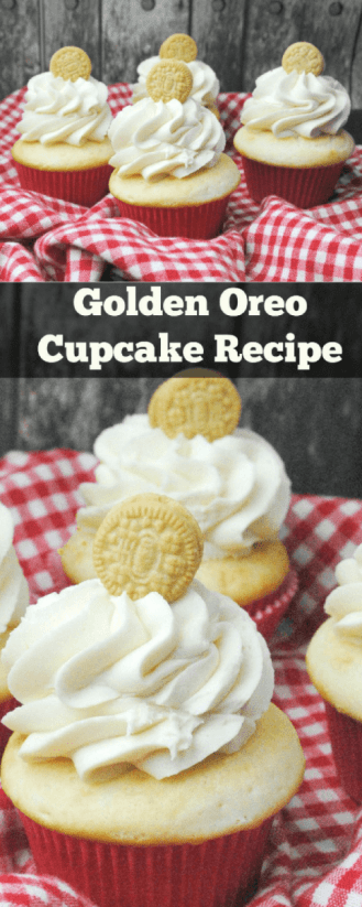 Golden Oreo Cupcake Recipe