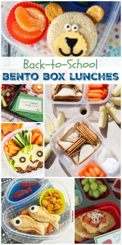 Back-to-School Bento Box Lunch Ideas
