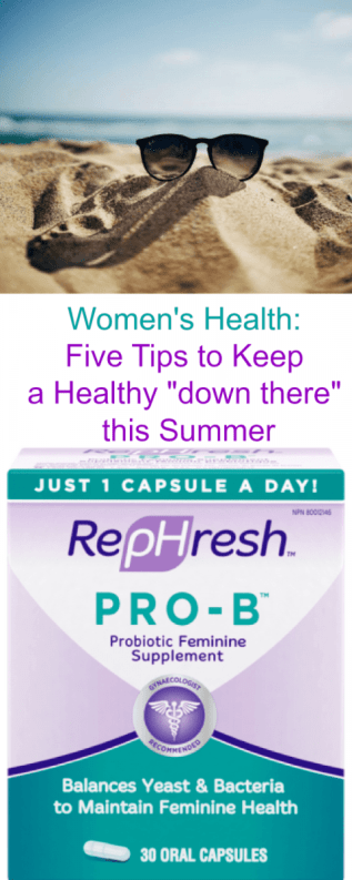 Women's Health Five Tips to Keep a Healthy down there this Summer
