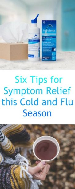 Six Tips for Symptom Relief this Cold and Flu Season