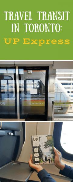 Transit Travel in Toronto - UP Express