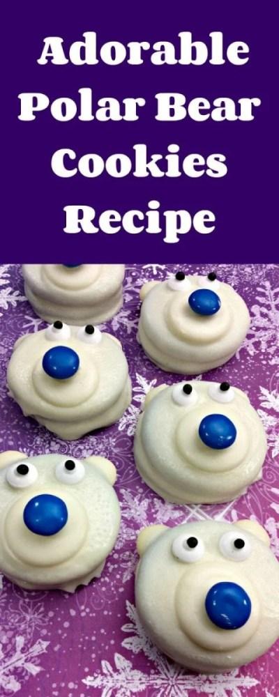 Adorable Polar Bear Cookies Recipe