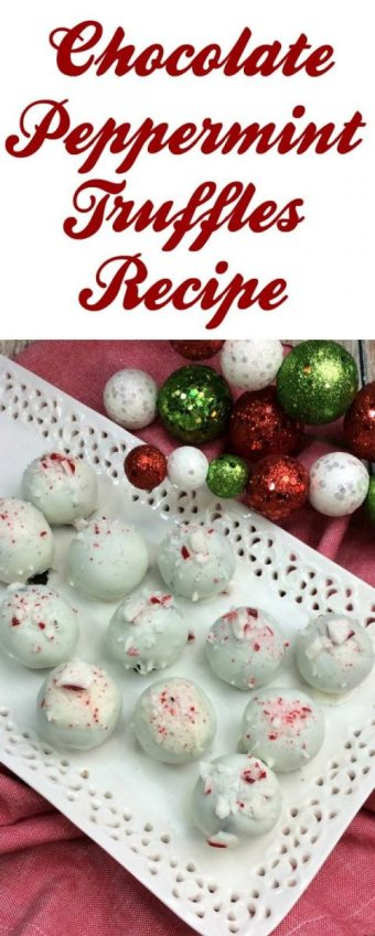 Chocolate Peppermint Truffles Recipe