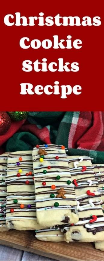 Christmas Cookie Sticks Recipe