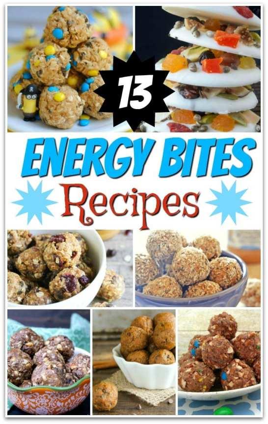 13 Energy Bites Recipes