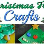 17 Christmas Tree Crafts For Kids