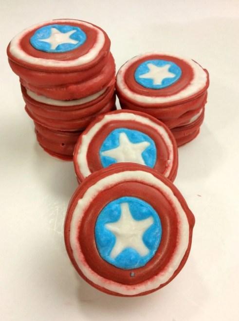 Avengers Captain America Oreo Cookies Recipe