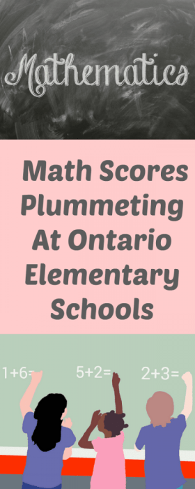 Math Scores Plummeting At Ontario Elementary Schools