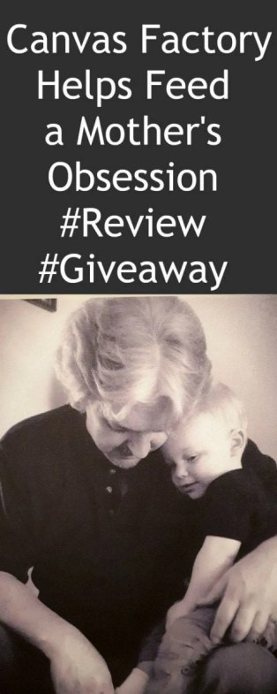 Canvas Factory Helps Feed a Mother's Obsession #Review #Giveaway