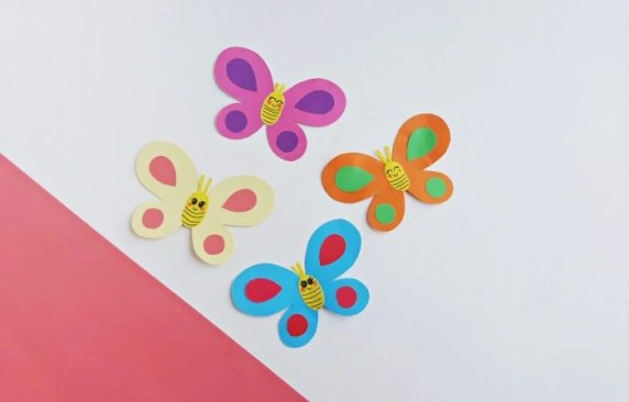 Smiley Butterfly Craft for Kids