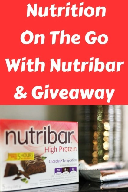 Nutrition On The Go With Nutribar