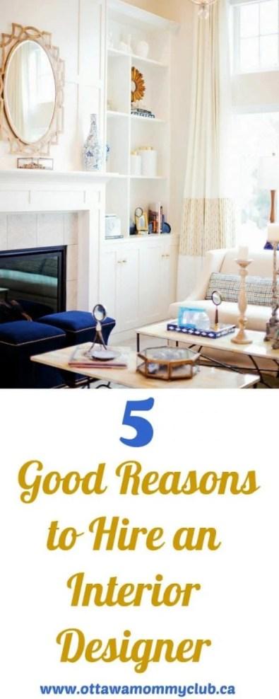 Good Reasons to Hire an Interior Designer