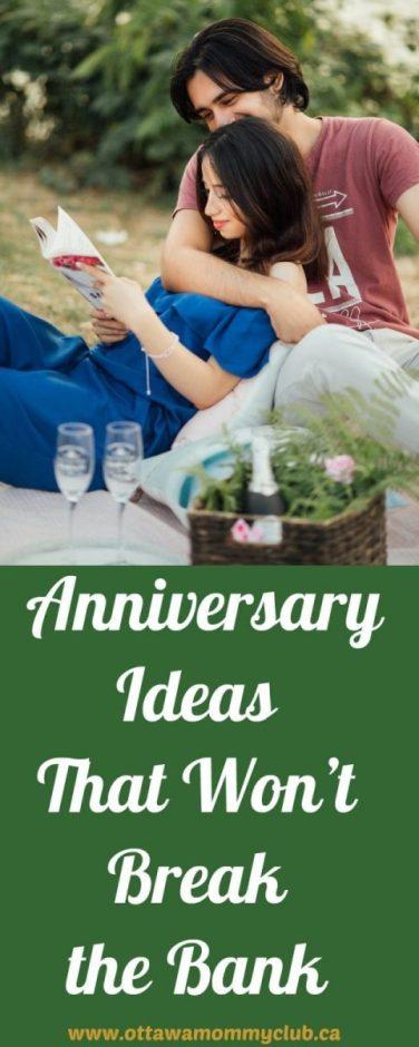 Anniversary Ideas That Won't Break the Bank