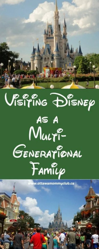 Visiting Disney as a Multi-Generational Family